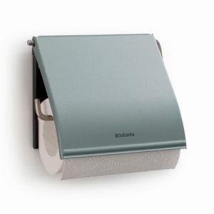 Держатель для туалетной бумаги Brabantia - Metallic Mint (мятный металик)