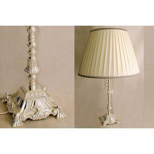 """Настольная лампа Franco """"Палаццо"""" серебро"""