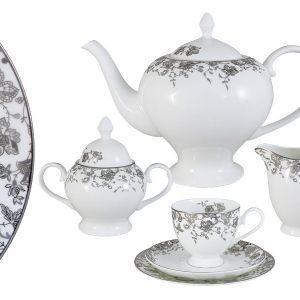 """Чайный сервиз Emerald 21 предмет на 6 персон """"Эстель"""""""