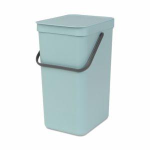 Ведро для мусора Brabantia SORT&GO – Mint (мятный)