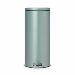 Бак для мусора Brabantia с педалью Silent - Metallic Mint (мятный металик)