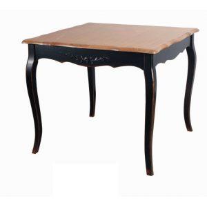 Квадратный обеденный стол Saphir noir