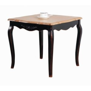 Квадратный стол Saphir noir