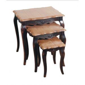 Комплект консольных столиков Saphir noir
