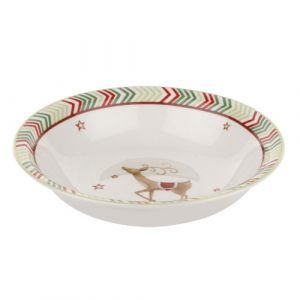 Тарелка глубокая Christmas Jubilee Cereal Bowl Chevron