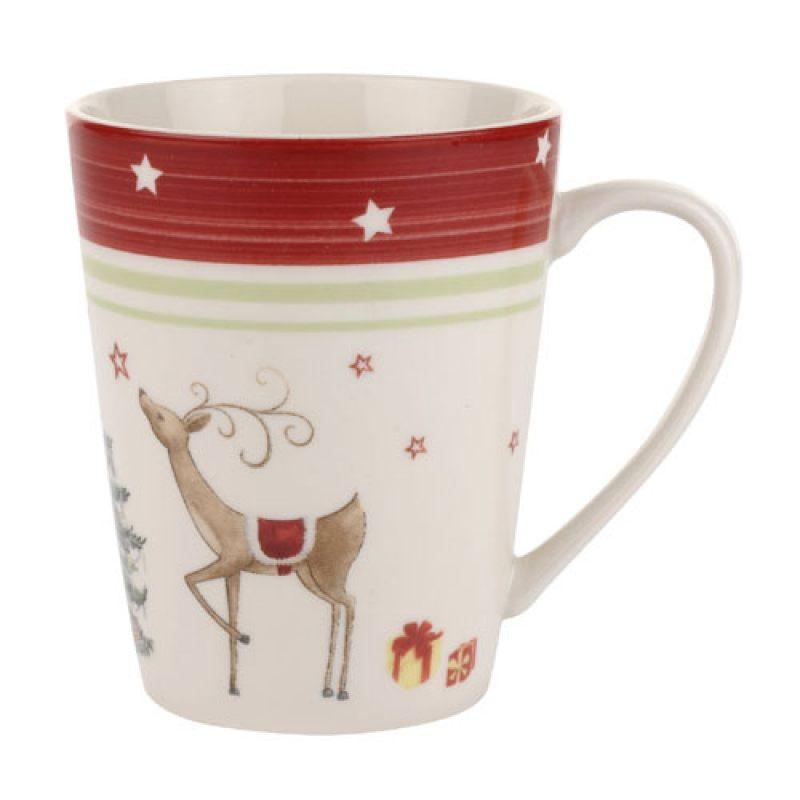 Кружка Christmas Jubilee Mug Red Band 400 мл