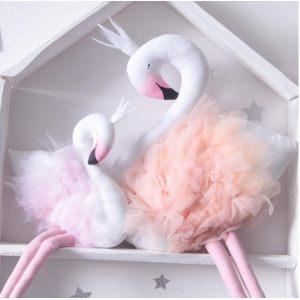 Детская игрушка-декор Лебедь