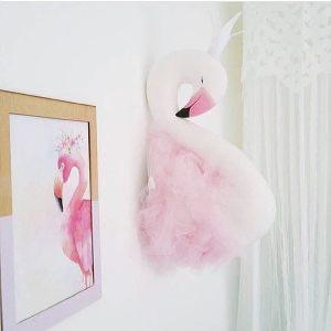 Игрушка на стенку Лебедь