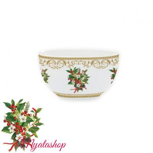 Салатник Christmas holly