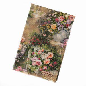 Полотенце Цветы