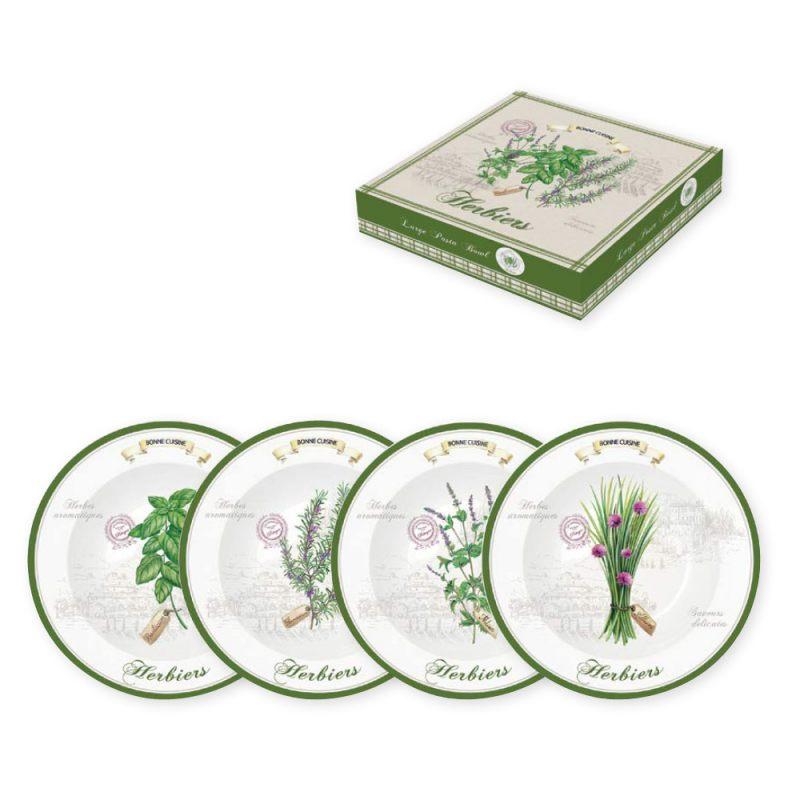 Набор тарелок для пасты Herbiers