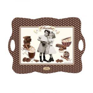Поднос Vintage chocolate