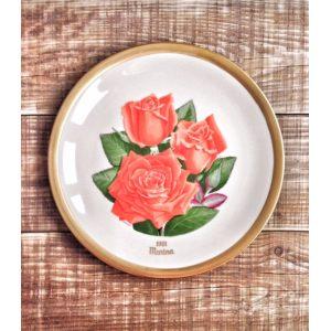 Винтажные тарелки Розы, Lenox