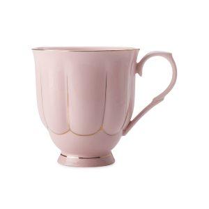Кружка (розовая) Свежее дыхание в подарочной упаковке