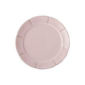 Тарелка десертная (розовая) Свежее дыхание в подарочной упаковке