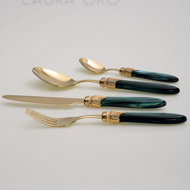 Столовые приборы Коллекция Laura Oro
