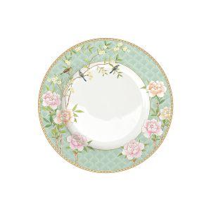Тарелка обеденная Дворцовый парк (салатовая)