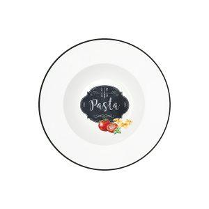 Тарелка для пасты Kitchen basic в подарочной упаковке