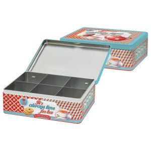 Коробка для чайных пакетиков Время чая