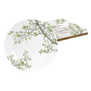Тарелка десертная Природа