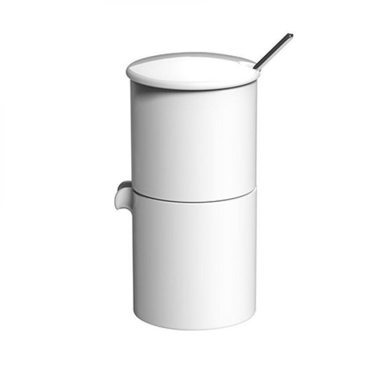Набор: сахарница + молочник + ложечка BOND 90 мл