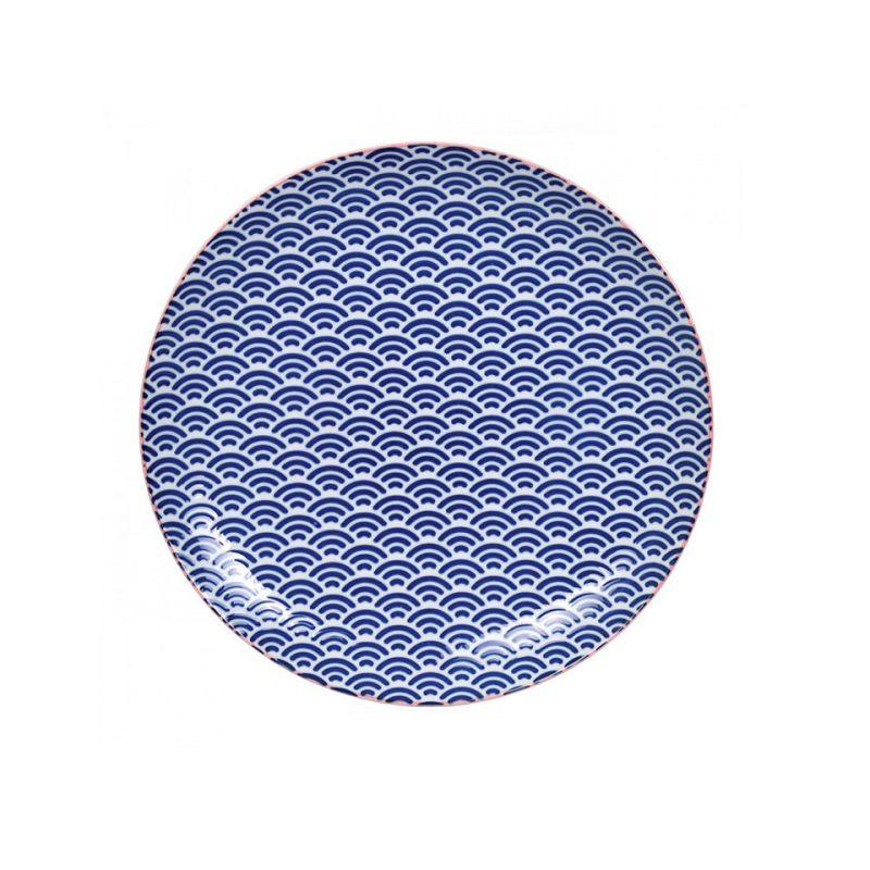 Тарелка TOKYO DESIGN STAR/WAVE Волны 25,7 см
