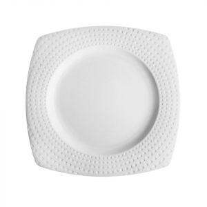 Тарелка квадратная CHEF & SOMMELIER  SATINIQUE 25,5 см