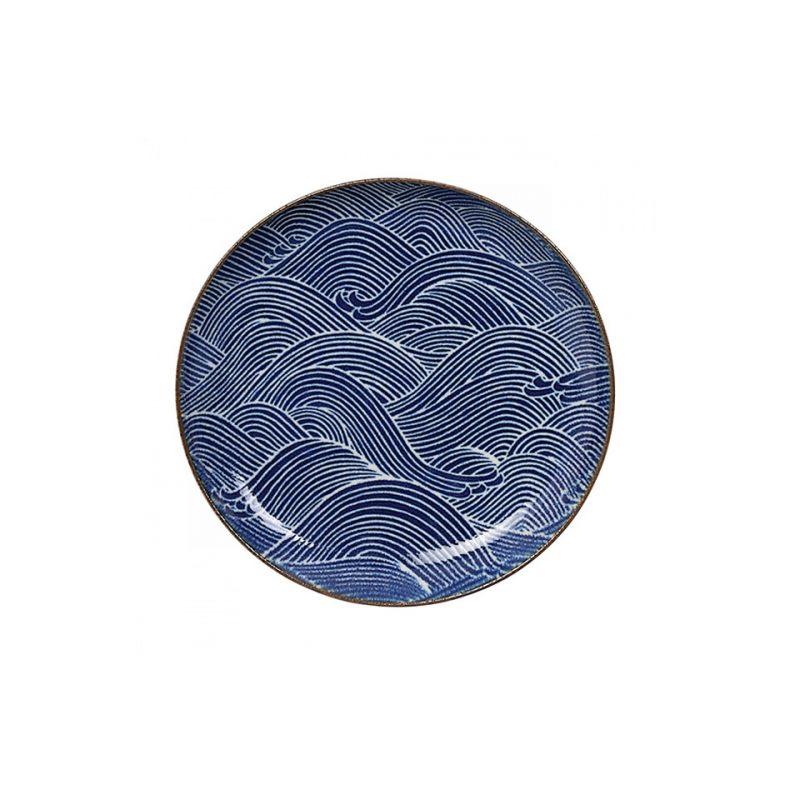 Тарелка TOKYO DESIGN SEIGAIHA синий 15,6 см