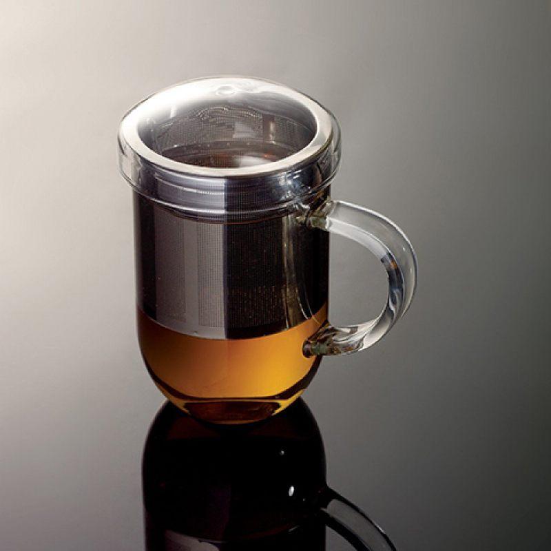 Кружка с ситечком LOVERAMICS PRO TEA 450 мл