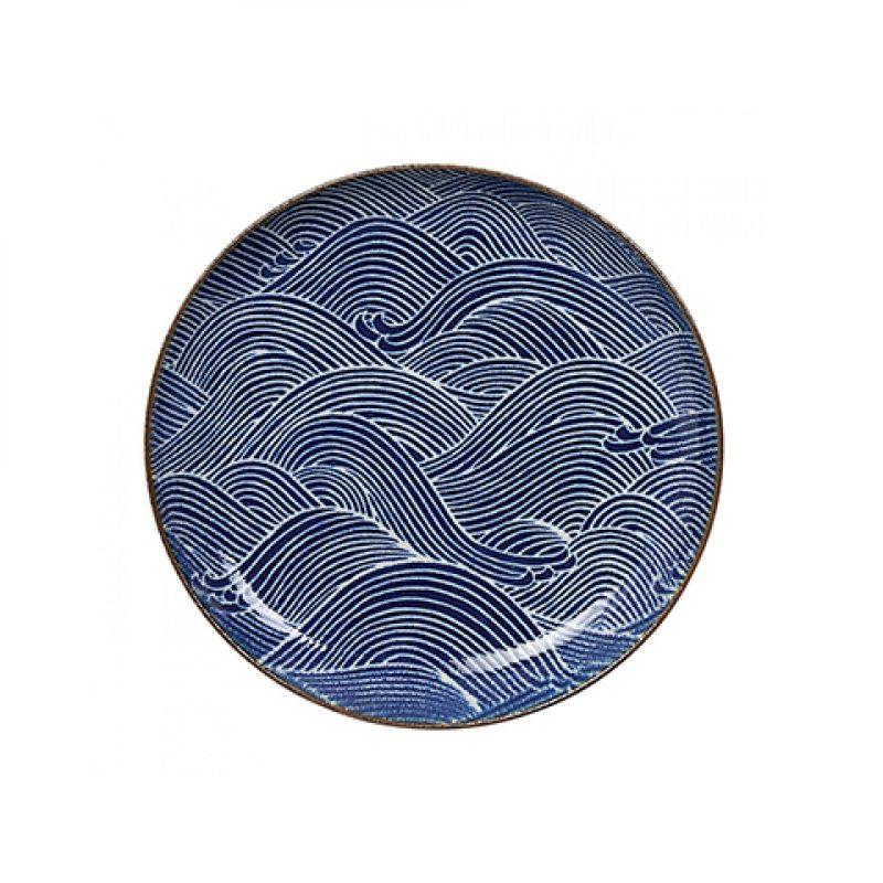Тарелка TOKYO DESIGN SEIGAIHA 25,7 см