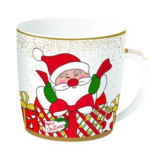 Кружка  3 в жестяной коробке  Christmas friends 350 мл