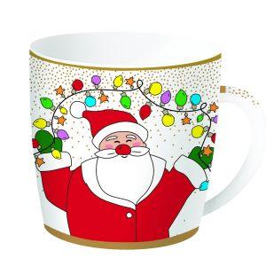Кружка 4 в жестяной коробке  Christmas friends 350 мл