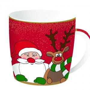 Кружка 1 в жестяной коробке  Christmas friends 350 мл