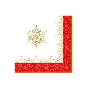 Бумажные салфетки трехслойные Hermitage 33 см