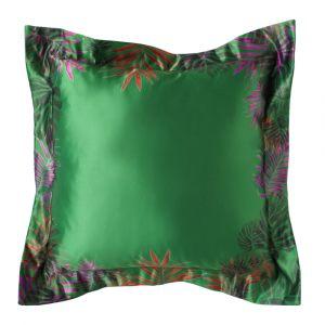 Подушка с ушками Тропики изумруд