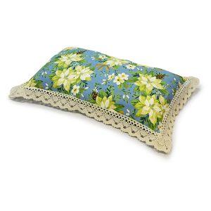 Наволочка с подушкой 50*30 см с кружевом