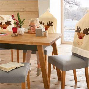 Чехол на стул с оленем