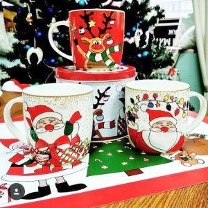 Кружка 2 в жестяной коробке  Christmas friends 350 мл