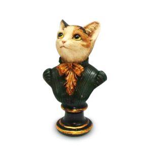 Кошка на подставке 17,5 см
