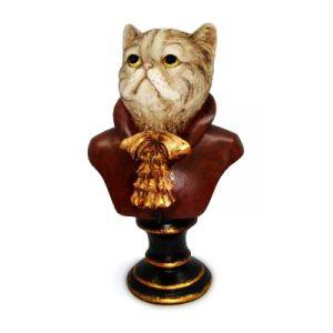 Кошка на подставке 24 см