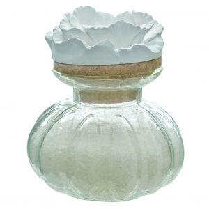 """Соль для ванной в стеклянной банке 300 гр """"Очаровательная Маркиза"""""""
