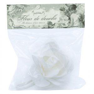 Мочалка для душа Белая роза