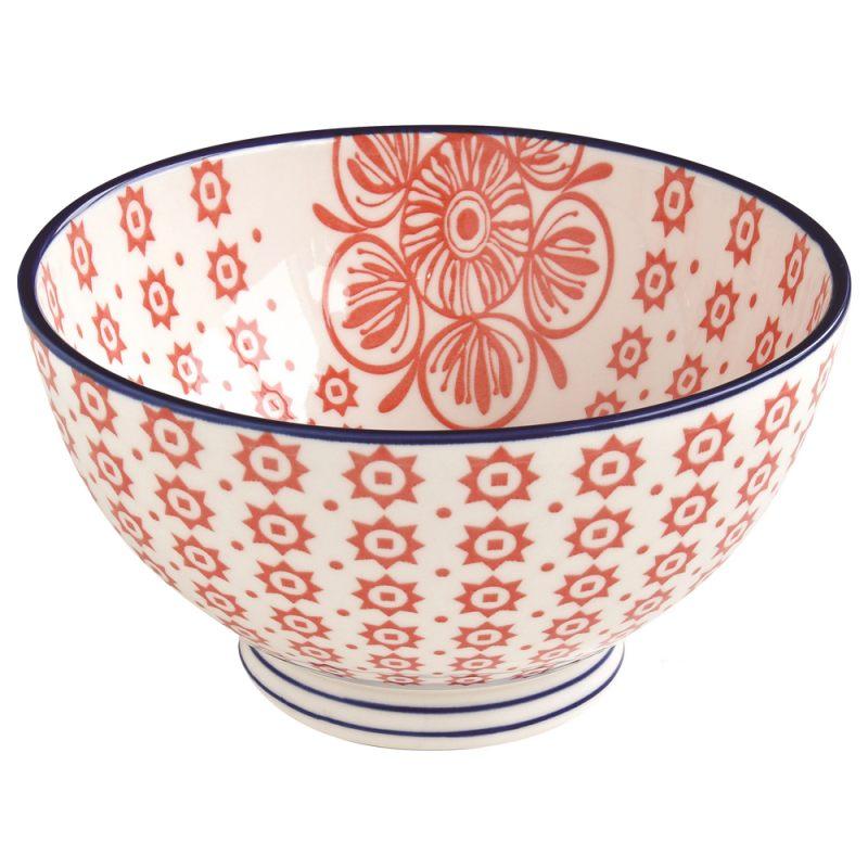 Салатник красный 15 см Essential art