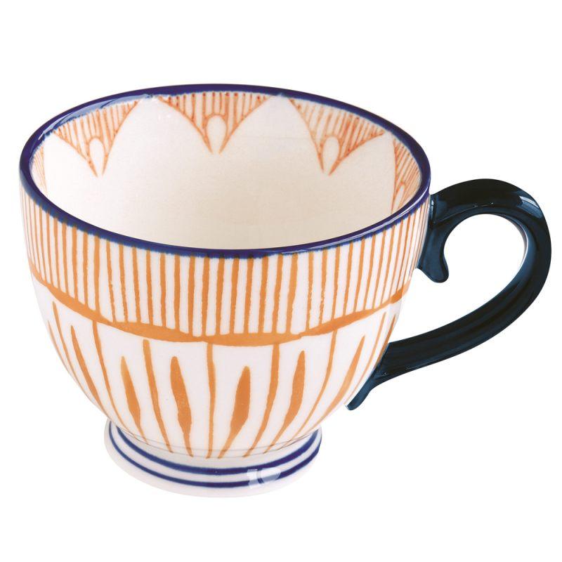 Кружка оранжевая 380 мл Essential art
