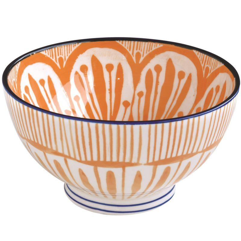 Салатник оранжевый 15 см Essential art
