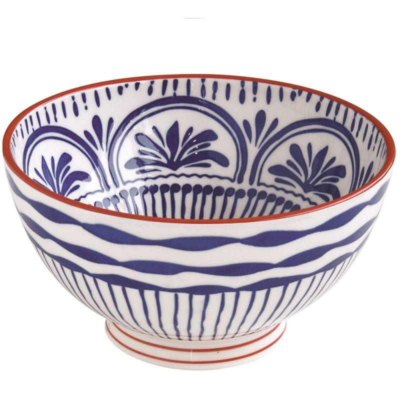 Салатник синий 15 см Essential art