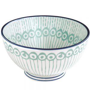 Салатник голубой 15 см Essential art