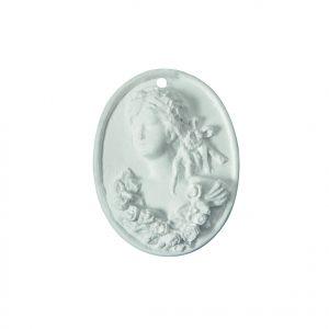 Подвесное ароматическое гипсовое украшение  Медальон Маркиза