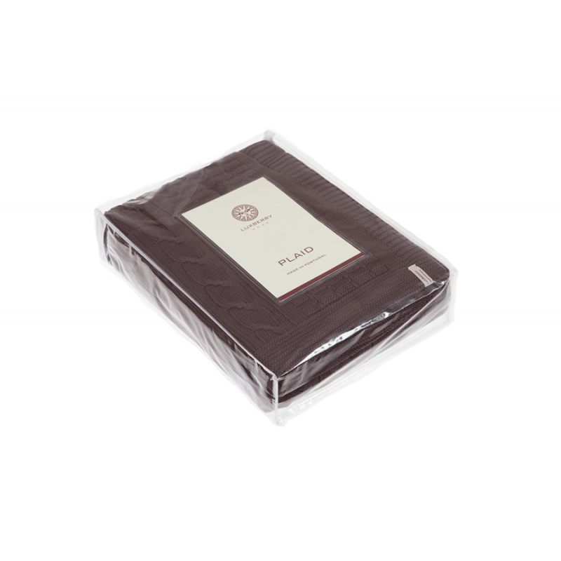 """Плед """"IMPERIO 233"""", шоколад"""