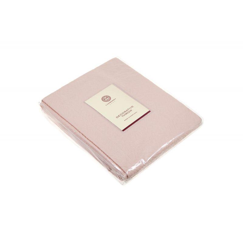 """Покрывало """"SANDAL"""", розовая пудра, Luxberry"""